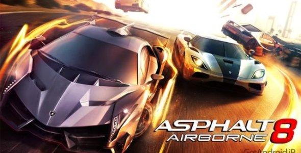 دانلود بازی Aphalt 8: Airborn 1.5.0h – بازی آسفالت ۸ برای اندروید