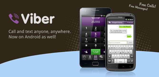 دانلود وایبر Viber : Free Calls & Messages 5.2.1.26 – تماس و پیامک رایگان اندروید