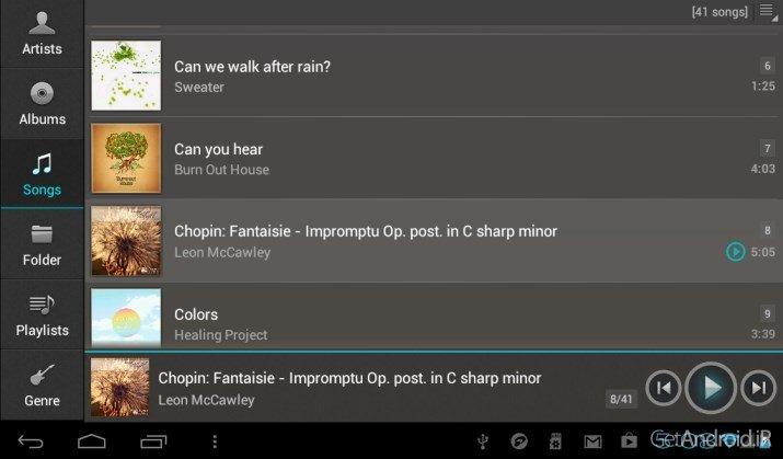 دانلود jetAudio HD Music Player Plus v10.8.1 موزیک پلیر جت آیدیو اندروید