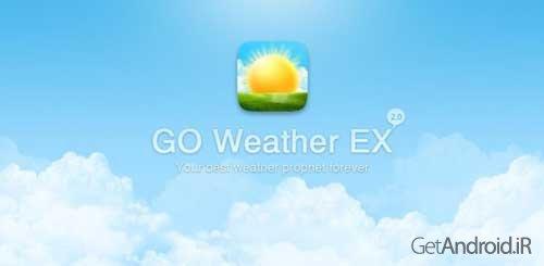 دانلود GO Weather Forecast & Widgets Premium v6.125 – بهترین برنامه هواشناسی اندروید