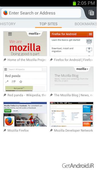 دانلود Firefox Browser 57.0.1   مرورگر موزیلا فایرفاکس اندروید