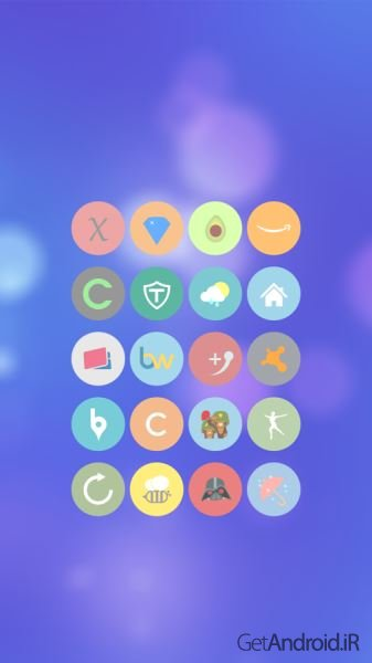 دانلود Cryten - Icon Pack 10.0.0 – تم جدید برای اندروید