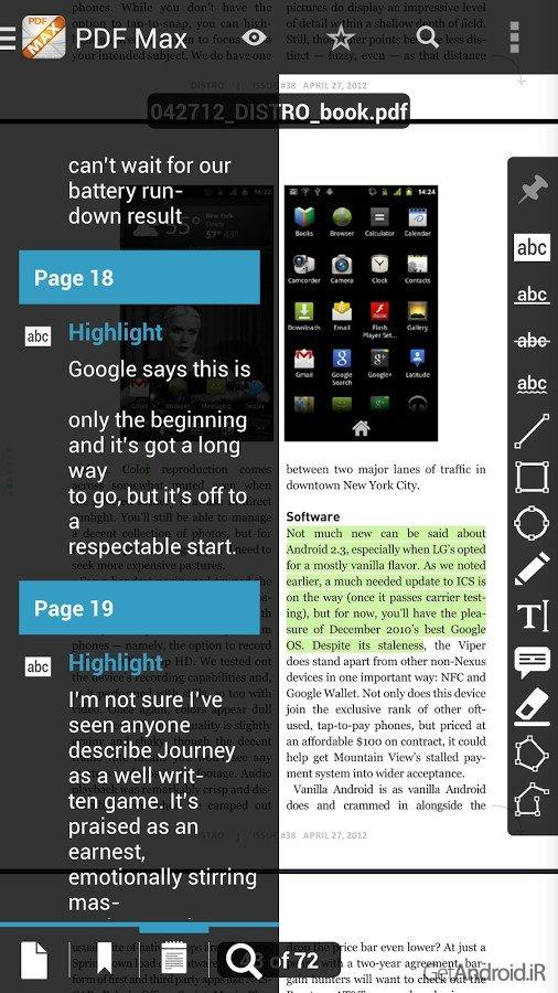 دانلود The PDF Expert for Android 4.0.4 برنامه PDF خوان حرفه ای ...... دانلود The PDF Expert for Android 4.0.4 - برنامه PDF خوان حرفه ای اندروید ...