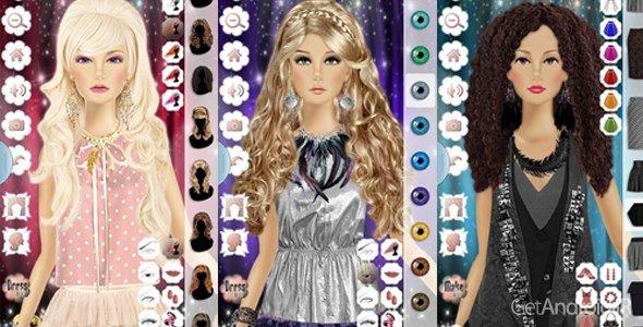 Barbie Princess Makeup Dress 2 v1.7 بازی دخترانه باربی برای آندروید