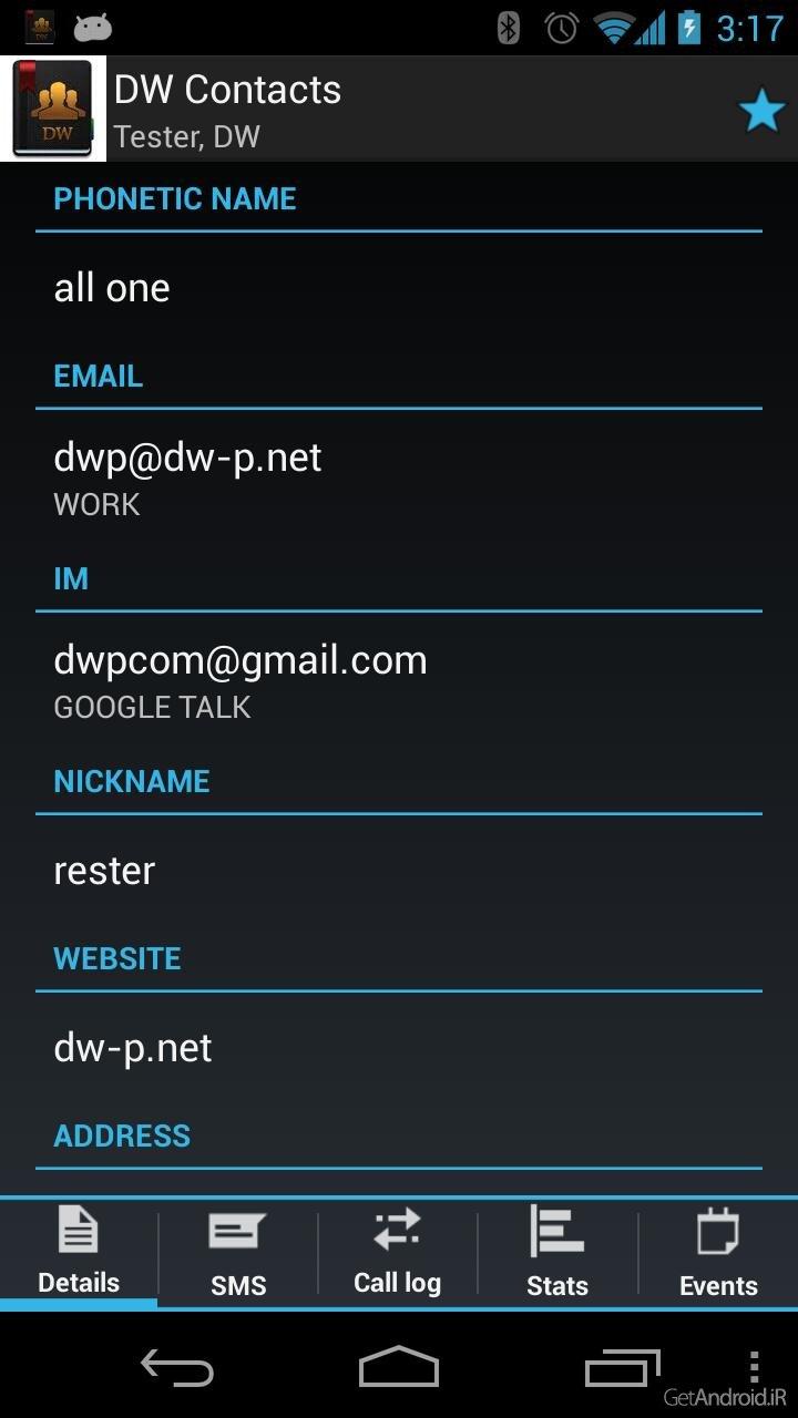 دانلود DW Contacts & Phone & Dialer pro 3 1 4 0 - برنامه قدرتمند