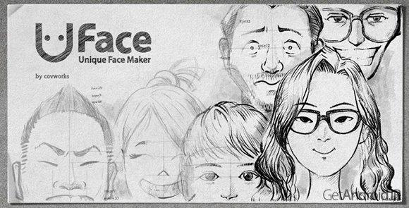 دانلود Uface – Unique Face Maker 2.0.6 برنامه طراحی چهره در اندرویددانلود Uface – Unique Face Maker 2.0.6 - برنامه طراحی چهره در اندروید