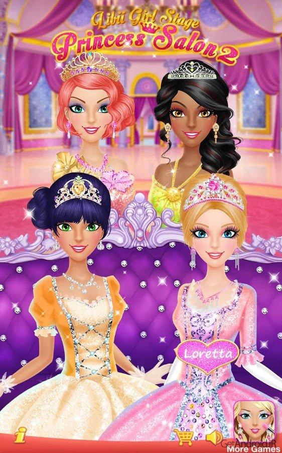 دانلود Princess Salon 2 1.1 بازی دخترانه سالن پرنسس برای اندروید
