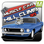 3d Hill Climb Muscle Cars 2014 icon