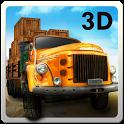 دانلود HILL CLIMB TRANSPORT 3D 1.9 - بازی کامیون رانی در کوهستان برای اندروید