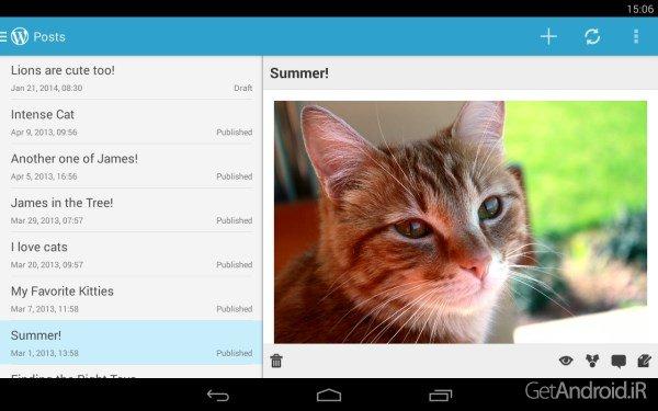 1399373162_wordpress-android-5.jpg... دانلود وردپرس WordPress 6.6 – برنامه مدیریت سایت های وردپرسی در اندروید ...