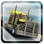 Truck racing game icon
