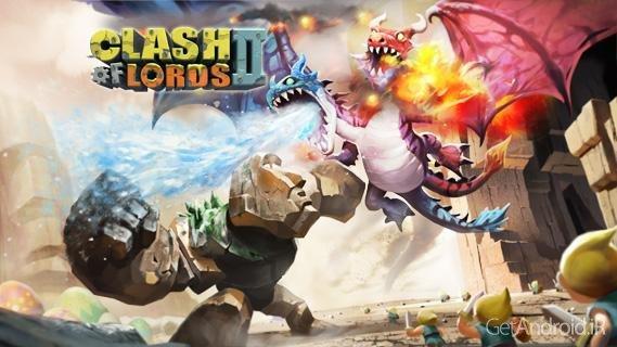 دانلود Clash of Lords 2 v1.0.200 - بازی استراتژیک نبرد سلاطین 2 برای اندروید