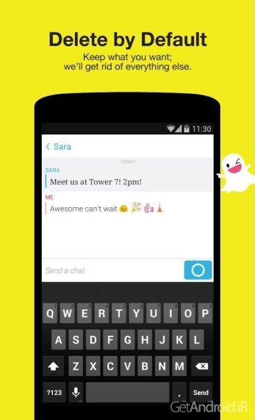دانلود Snapchat 10.21.6.0 برنامه اسنپ چت تصویری اندروید