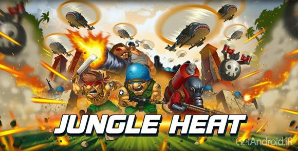 دانلود Jungle Heat 1.9.8 - بازی استراتژیک و آنلاین حرارت جنگل برای اندروید