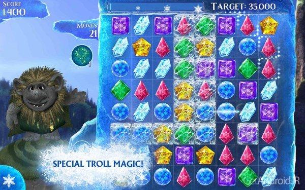 دانلود Frozen Free Fall 4.7.0 – بازی یخ زده اندروید