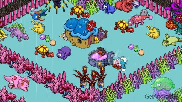 دانلود Smurfs' Village 1.56.0 – بازی دهکده اسمورف ها اندروید + دیتا