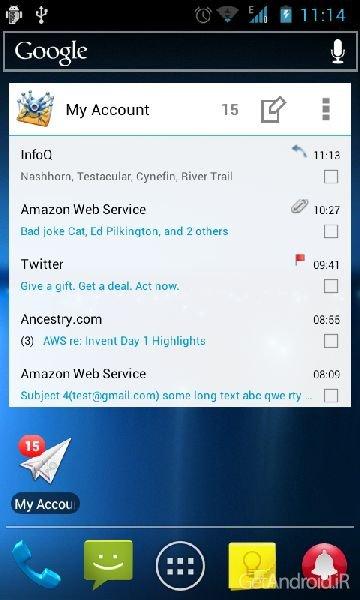 دانلود MailDroid Pro 5.10 کلاینت قدرتمند سرویسهای ایمیل برای اندروید