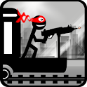 Stickman Train Shooting icon
