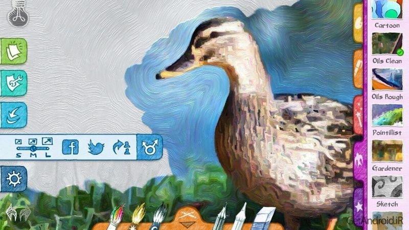 دانلود Paper Artist 2.1.0 برنامه تبدیل عکس به نقاشی های زیبا برای اندروید