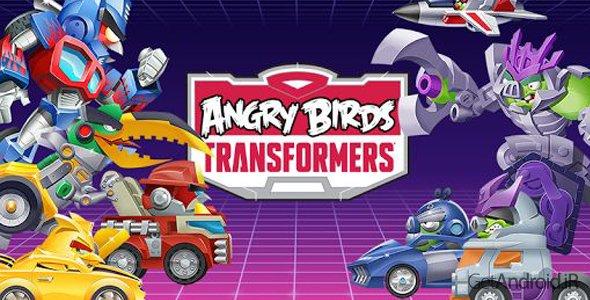 دانلود Angry Birds Transformers 1.12.1 - بازی پرندگان خشمگین ترنسفورمرز برای اندروید + دیتا