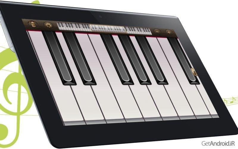 آموزش ساخت برنامه پیانو
