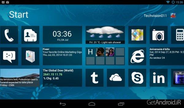 Home8+ like Windows 8 Launcher 4.0 لانچر ویندوز 8 برای اندرویددانلود Home8+ like Windows 8 Launcher 4.0 لانچر ویندوز 8 برای اندروید