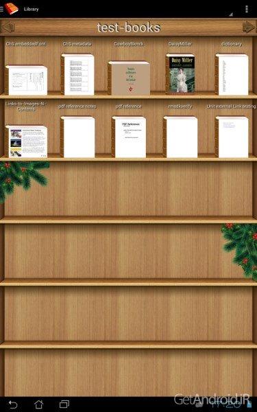 دانلود PDF and DJVU Reader 2.7.4 برنامه کتاب خوان اندروید