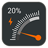 دانلود Gauge Battery Widget 2017 PRO 5.1.0 - ویجت زیبای نمایش وضعیت باتری برای اندروید