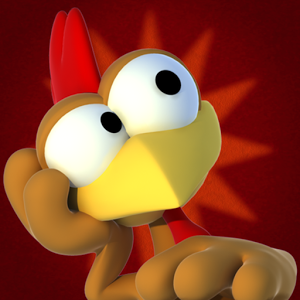 Crazy Chicken Deluxe icon
