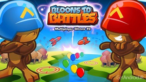 دانلود Bloons TD Battles 3.0.4 بازی نبرد میمون ها اندروید