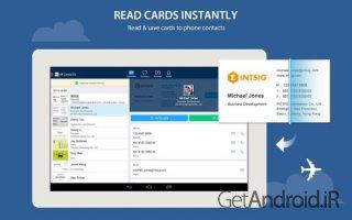 دانلود CamCard – Business Card Reader 7.15.0.20170104  برنامه اسکن کارت تجاری اندروید