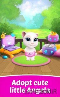 دانلود My Talking Angela 3.5.0.21 – بازی دخترانه صحبت با آنجلا اندروید