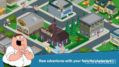 دانلود Family Guy The Quest for Stuff 1.70.0 – بازی مرد خانواده اندروید + مود