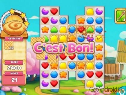 دانلود Cookie Jam 6.80.211 بازی شکلات های همرنگ اندروید
