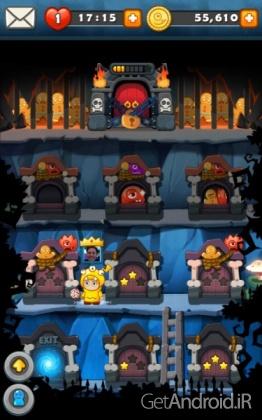 دانلود MonsterBusters 1.2.85 بازی پازلی جنگ با هیولاها اندروید