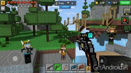 دانلود Pixel Gun 3D 13.1.1 بازی اکشن با گرافیک پیکسلی اندروید