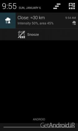 دانلود Rain Alarm OSM Pro 5.0.19 – برنامه هشدار باران اندروید