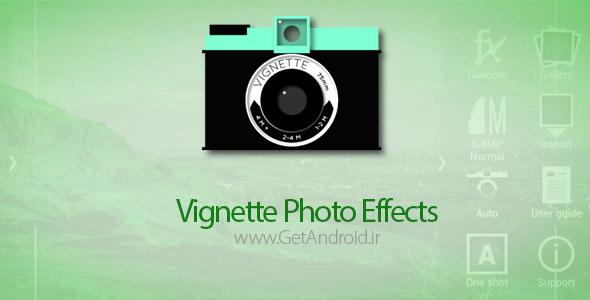 نرم افزار Vignette・photo effects・ 2.0.17 برنامه افکت گذاری روی عکس اندروید