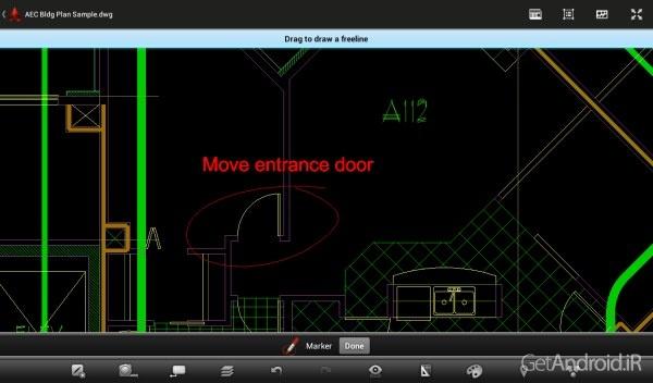 AutoCAD 360 Pro 4.0.7 نرم افزار اتوکد برای موبایل اندرویددانلود AutoCAD 360 Pro 4.0.7 نرم افزار اتوکد برای موبایل اندروید