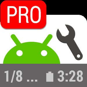 دانلود Status Bar Mini PRO 1.0.172 برنامه سفارشی سازی نوار وضعیت اندروید