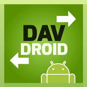 دانلود DAVdroid – CalDAV/CardDAV Sync 1.9.7 برنامه همگام سازی مخاطبین و تقویم اندروید