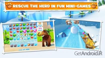 دانلود Ice Age Adventures 1.7.2e - بازی عصر یخبندان اندروید