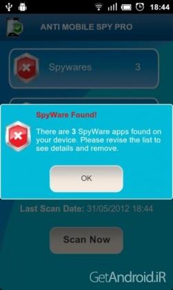 Anti Spy Mobile PRO 1.9.10.33 نرم افزار ضد جاسوسی اندرویددانلود Anti Spy Mobile PRO 1.9.10.33 نرم افزار ضد جاسوسی اندروید