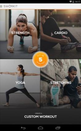 دانلود Sworkit Pro - Custom Workouts 8.0.5 نرم افزار تمرینات ورزشی اندروید