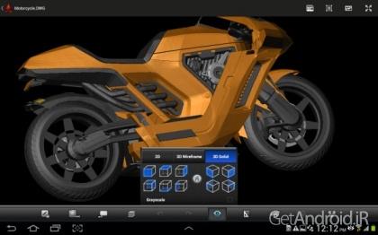 دانلود AutoCAD 360 Pro 4.0.7 نرم افزار اتوکد برای موبایل اندروید