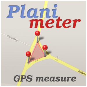 دانلود Planimeter- GPS area measure 5.0.1 برنامه اندازه گیری مساحت GPS اندروید