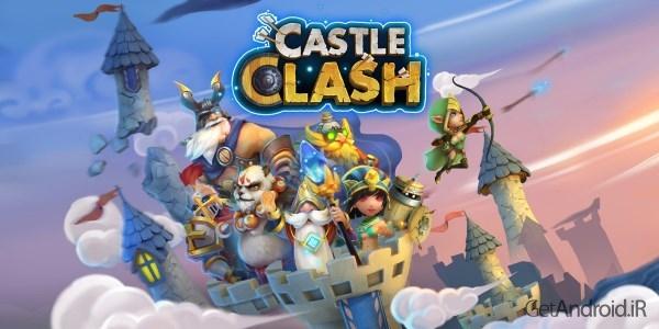 دانلود بازی اندروید Castle Clash 1.2.74