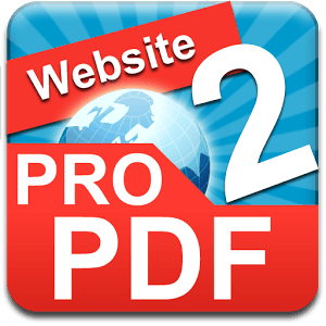Website TO PDF PRO icon
