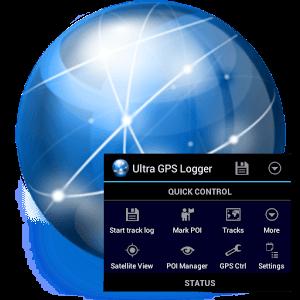 دانلود Ultra GPS Logger 3.140g نرم افزار ردیاب GPS اندروید
