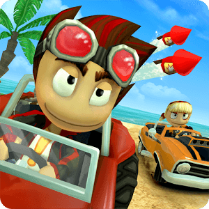 دانلود Beach Buggy Racing 1.2.16 - بازی مسابقه با باگی در ساحل برای اندروید